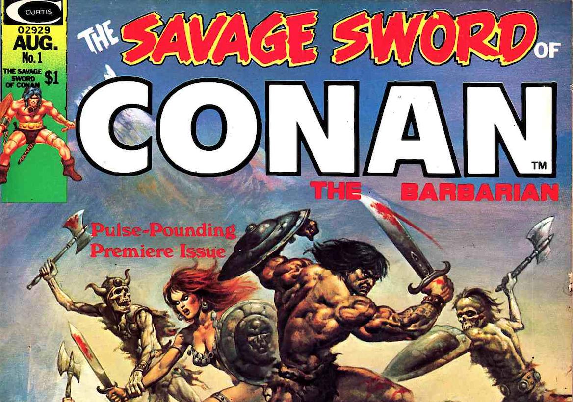 Savage Sword Original Cover