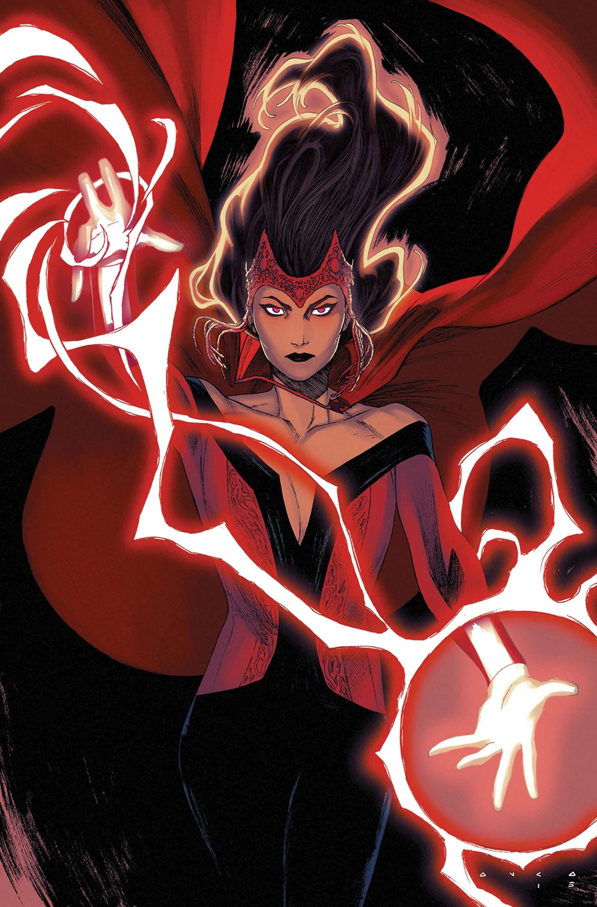 Scarlet Witch modern costume
