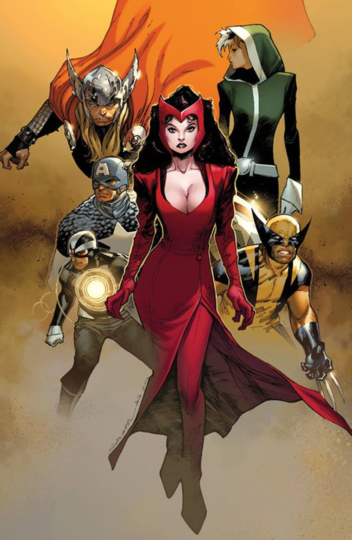 Scarlet Witch Uncanny Avengers 1 cover