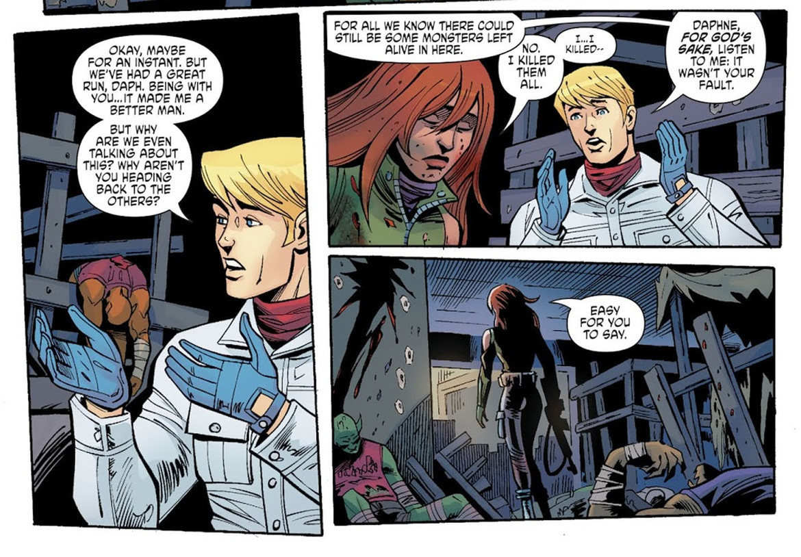 Scooby Apocalypse Fred and Daphne