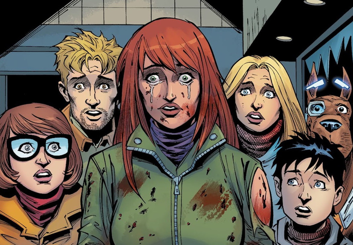 Scooby Apocalypse in mourning