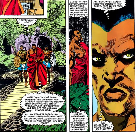 Black Panther marvel comics
