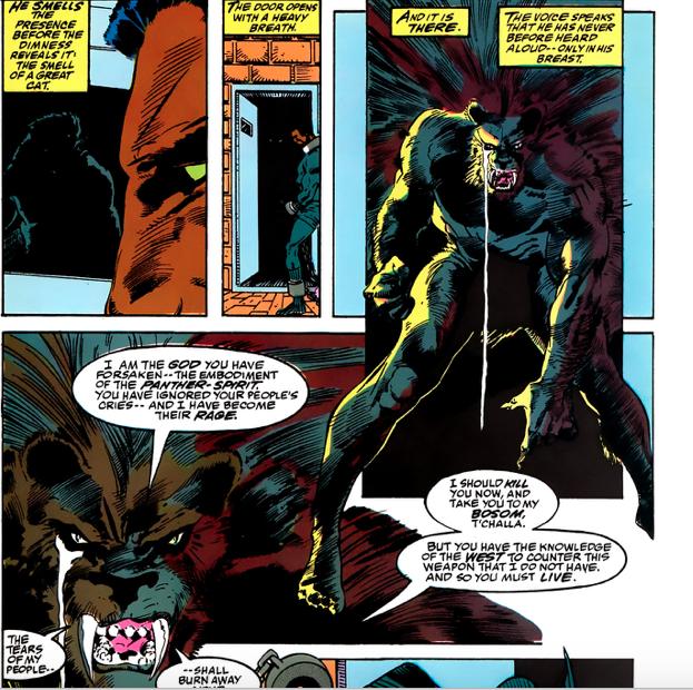Black panther comics marvel
