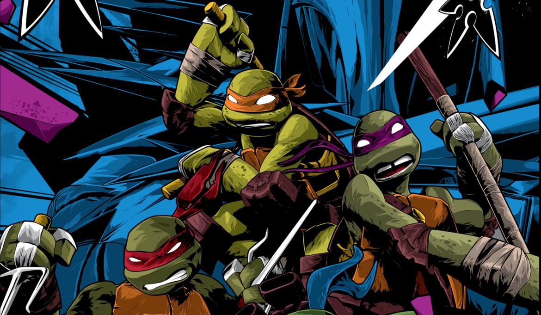 Teenage Mutant Ninja Turtles poster by Anthony Petrie