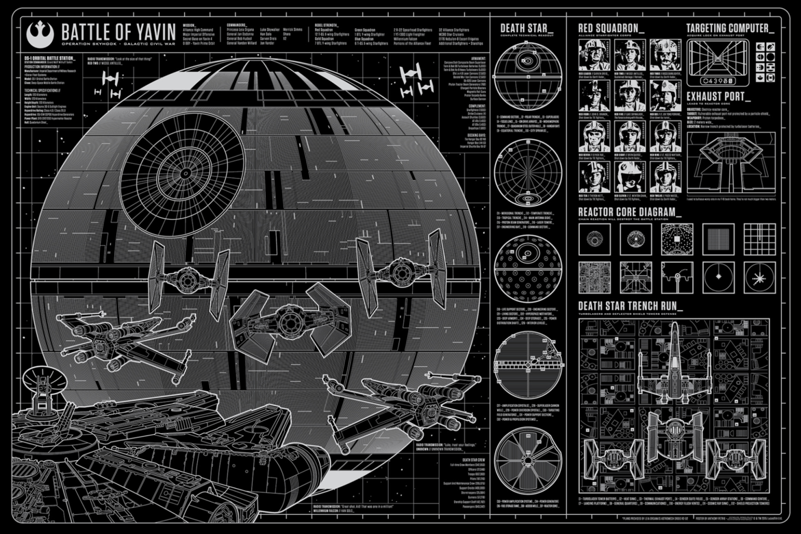The Death Star by Anthony Petrie