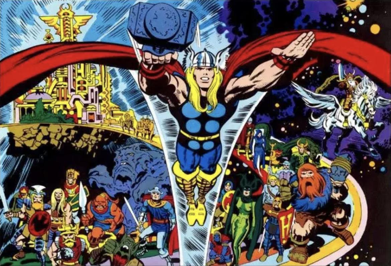 Jack Kirby Thor Ragnarok