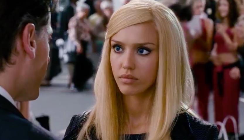 Jessica alba blond