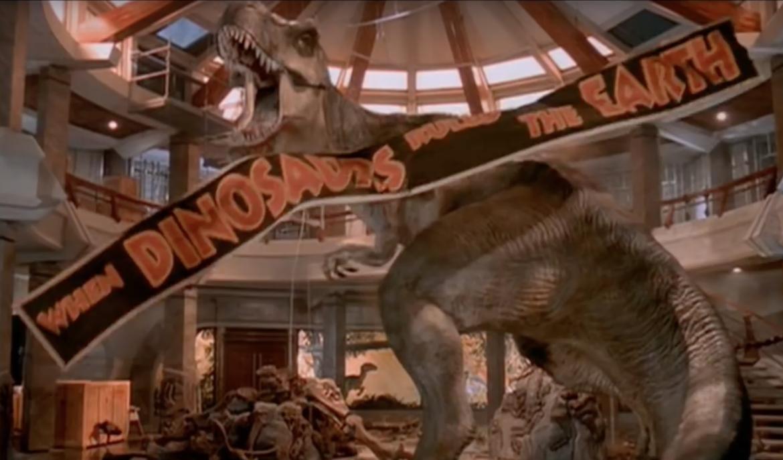 Jurassic Park T-Rex scene
