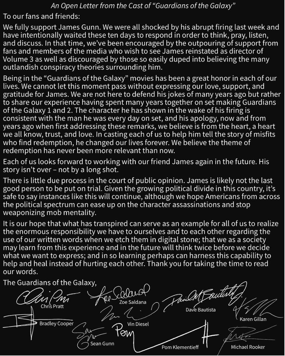 Gunn letter