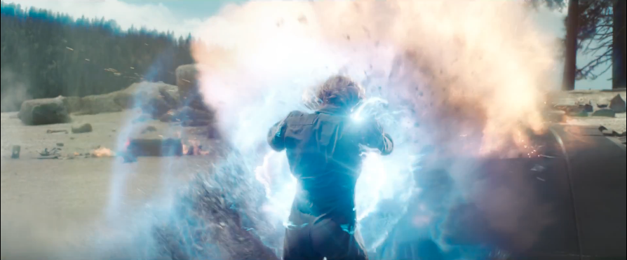 Captain Marvel, explosion