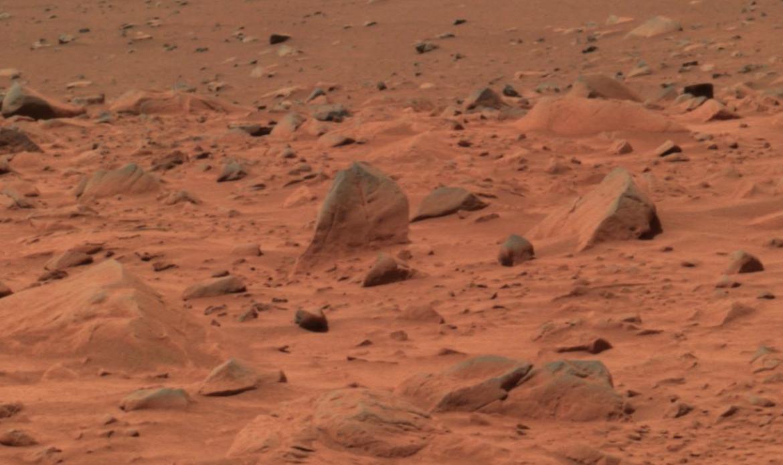 NASA image of the surface of Mars