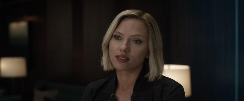 Natasha Romanoff, Black Widow in Avengers: Endgame