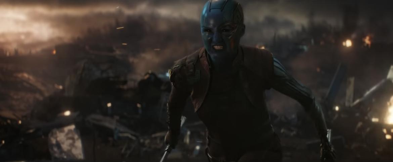 Nebula, Avengers: Endgame trailer