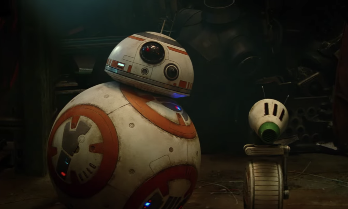 Star Wars: The Rise of Skywalker (BB-8 and D-O)