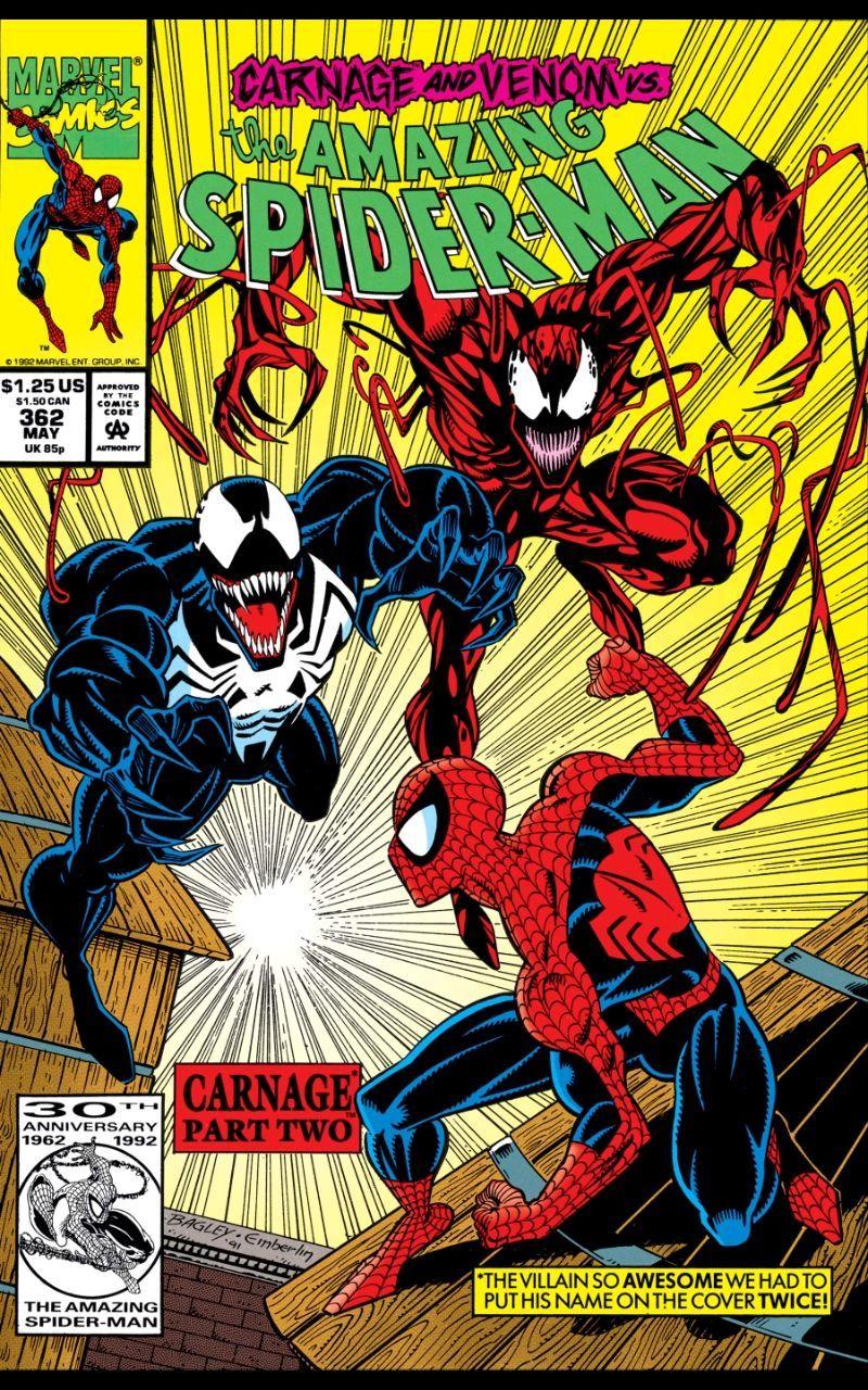 America Spider-Man Carnage and Venom
