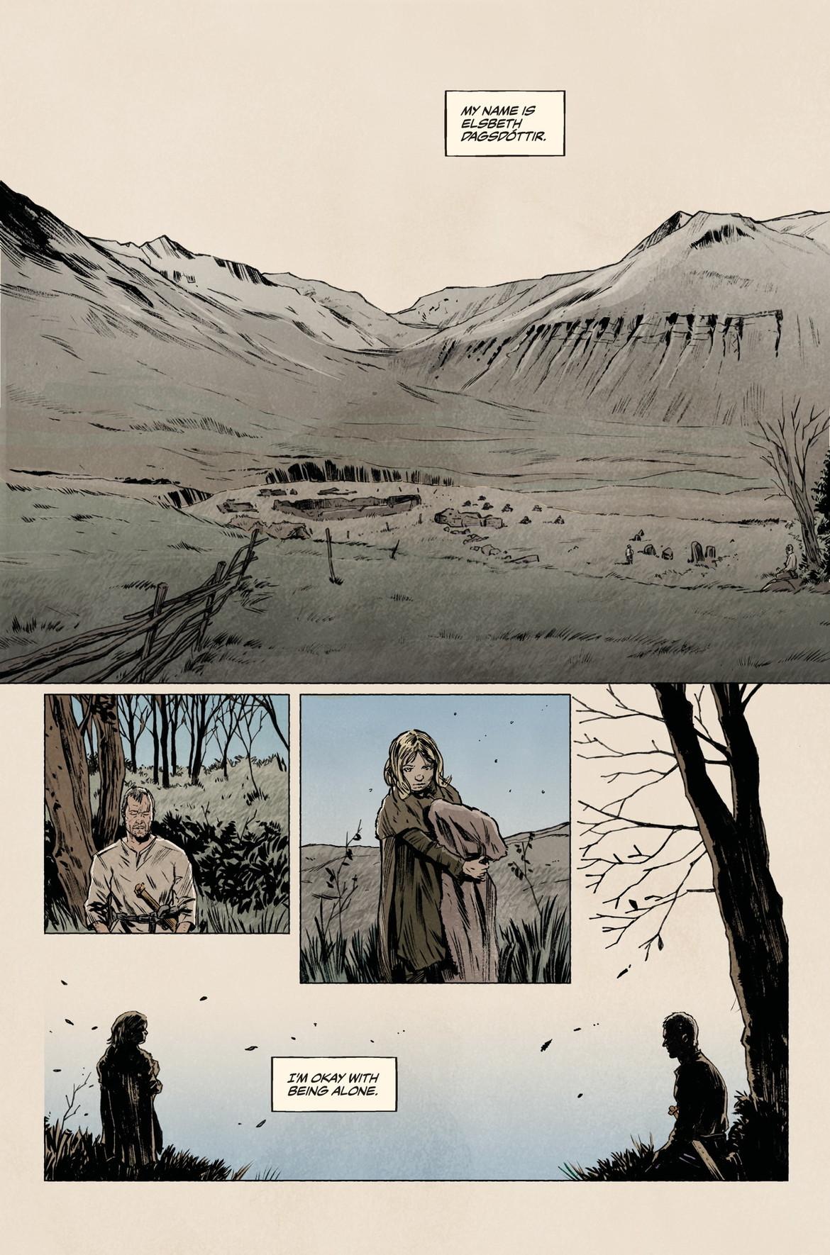 From Sword Daughter #1, Dark Horse Comics