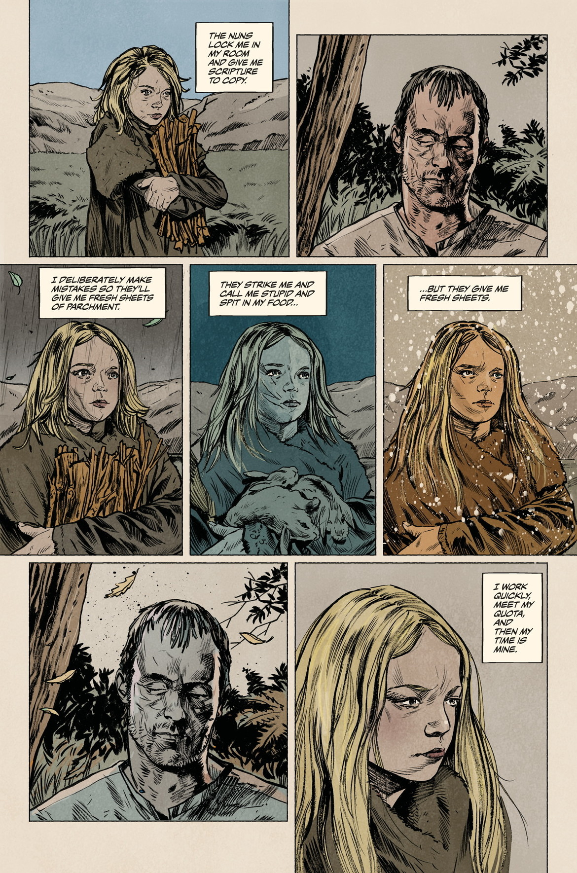 Sword Daughter Issue #1, Page 2, from Dark Horse