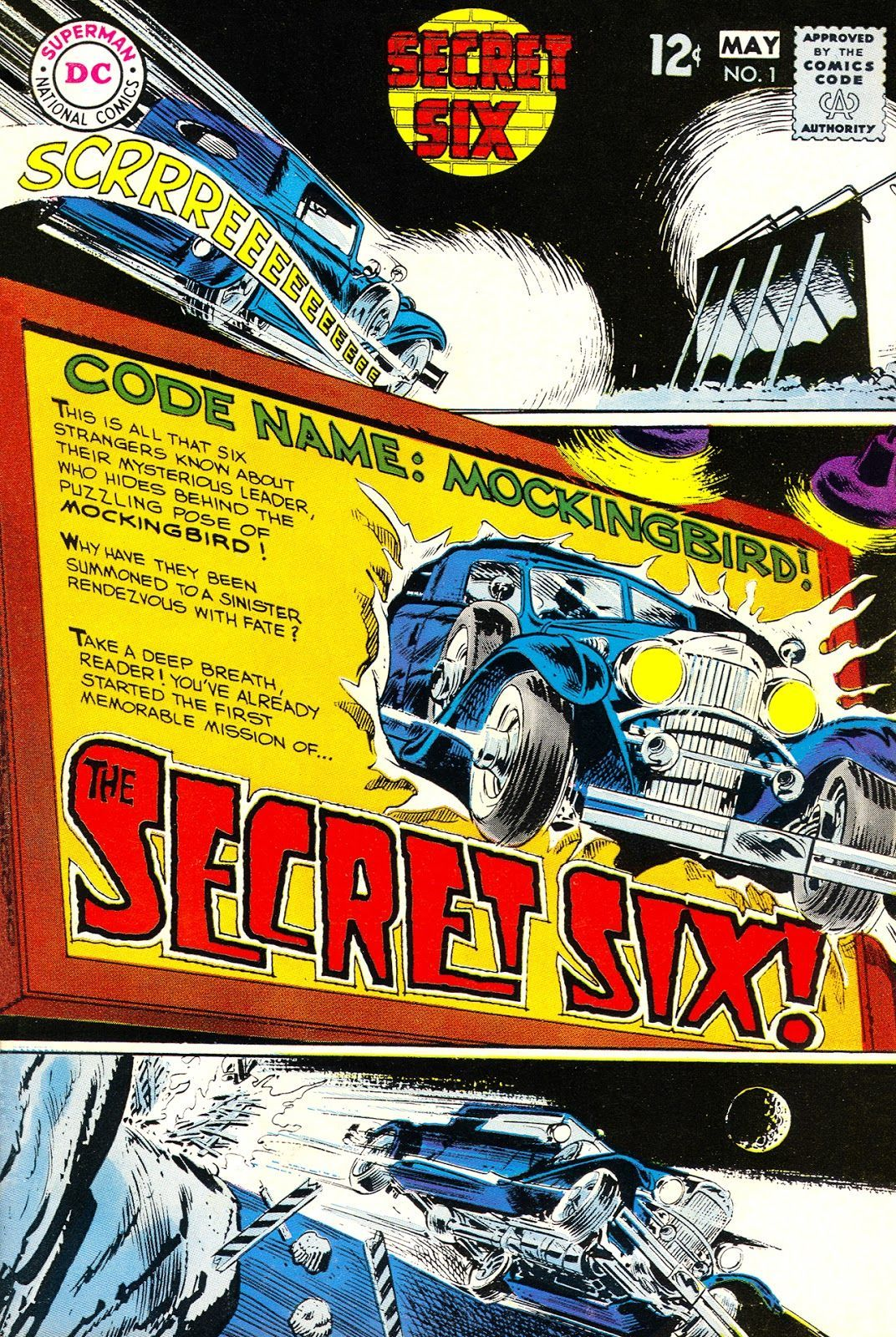Secret Six #1 (Writer E. Nelson Bridwell, /  Artist Frank Springer)
