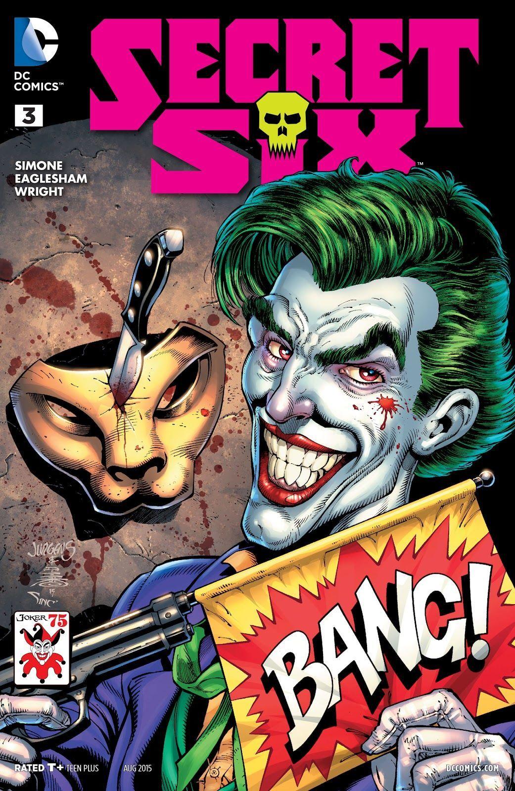 Secret Six #3 (2015) (Writer Gail Simone, Artist Dale Eaglesham)