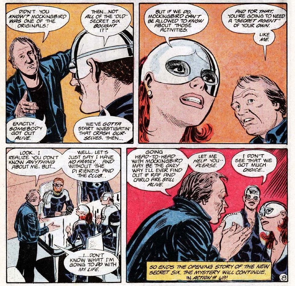 Action Comics 612 (Writer E. Nelson Bridwell,   Artist Frank Springer)