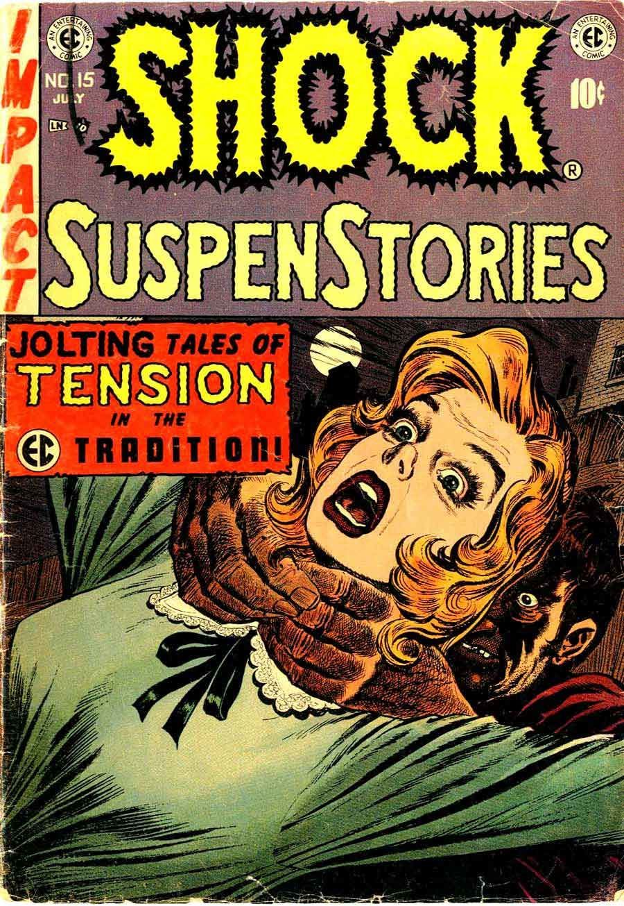 Shock SuspenStories #15 (Cover by Wally Wood)