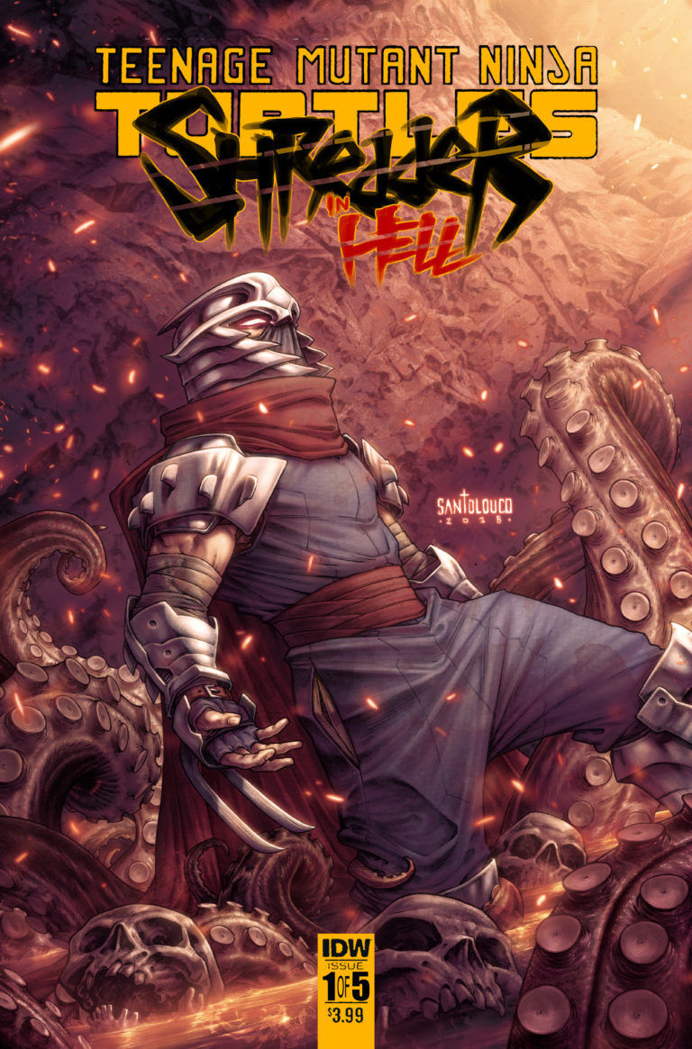 Shredder In Hell Cover A