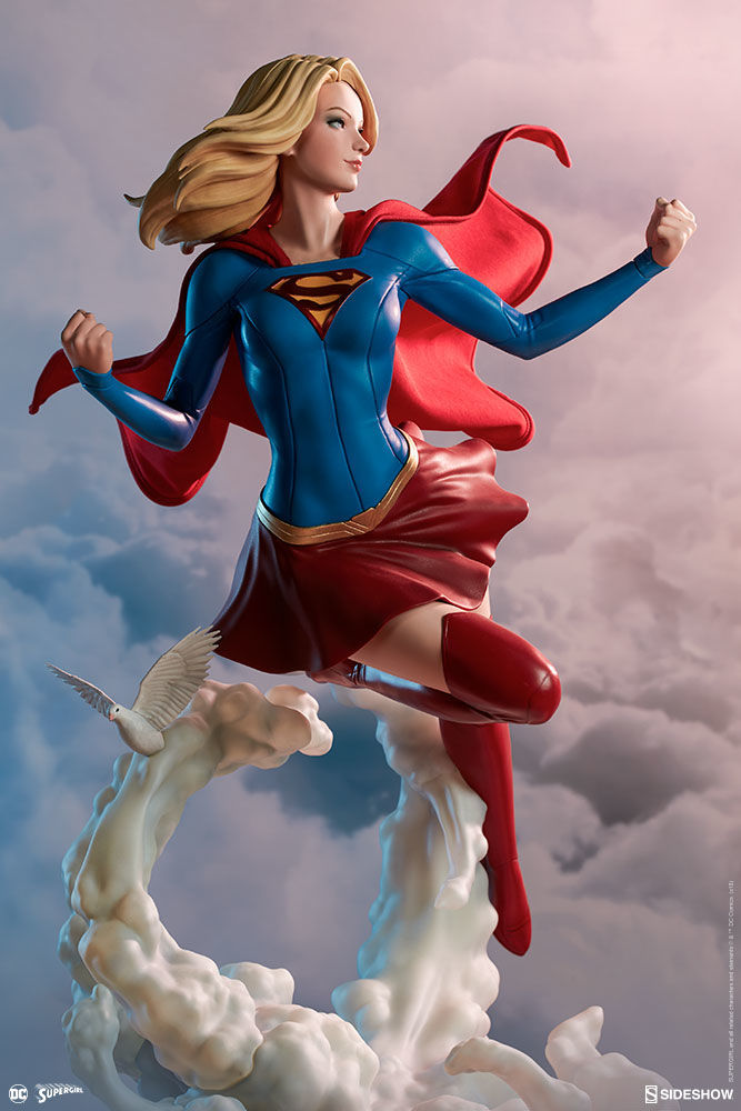 sideshow collectibles supergirl artgerm