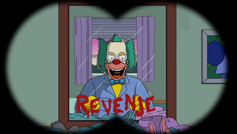 Simpsons parody of The Shining