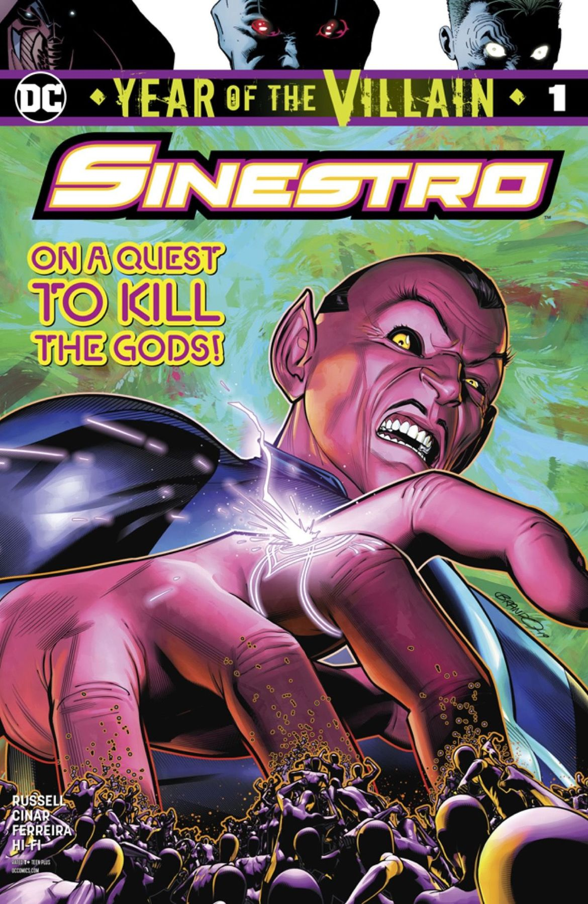 Sinestro #1: Preview for DC Comics' newest Year of the