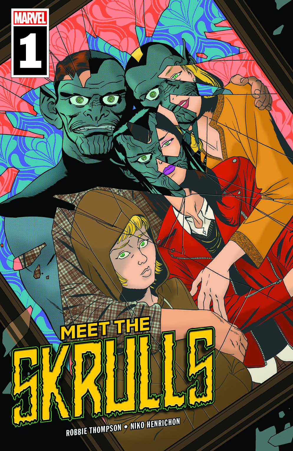 Meet The Skrulls #1 (Written by Robbie Thompson, Art by Niko Henrichon, Cover by Marcos Martin)