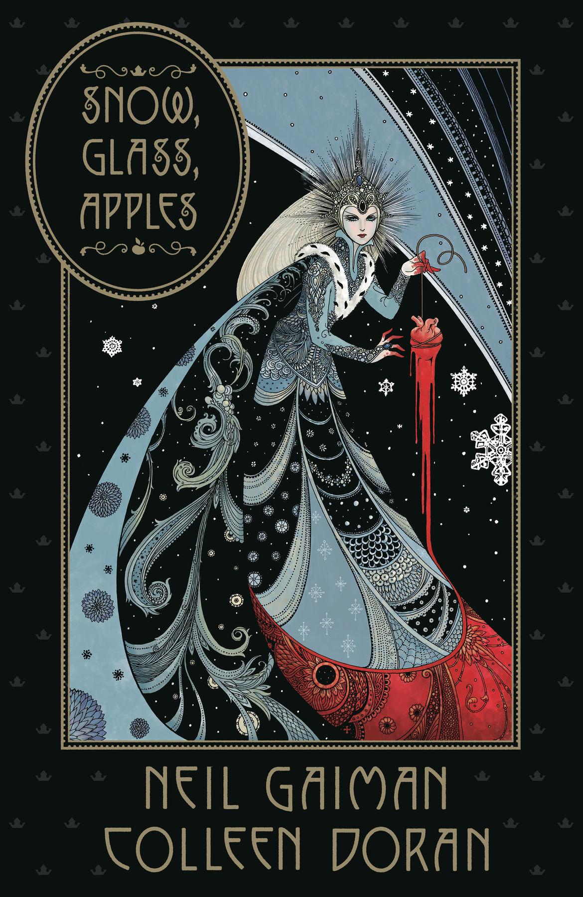 Snow Glass Apples Dark Horse cover