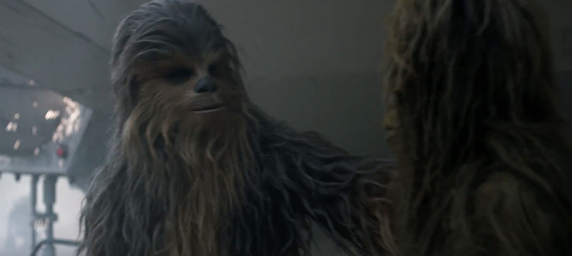 Solo trailer 2- Chewbacca with mate