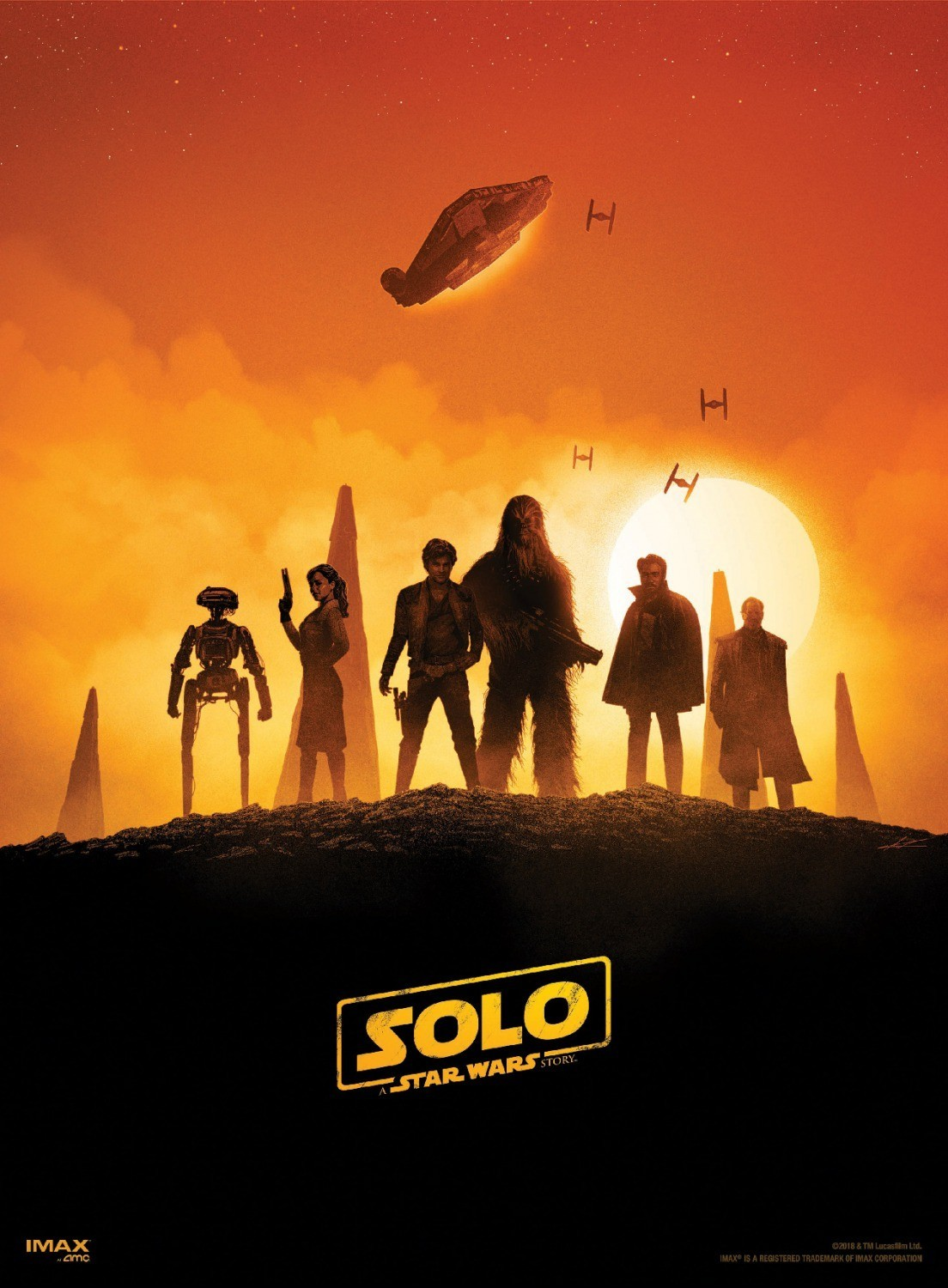 Solo poster heroes
