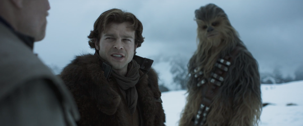 Solo A Star Wars Story, Han Chewie