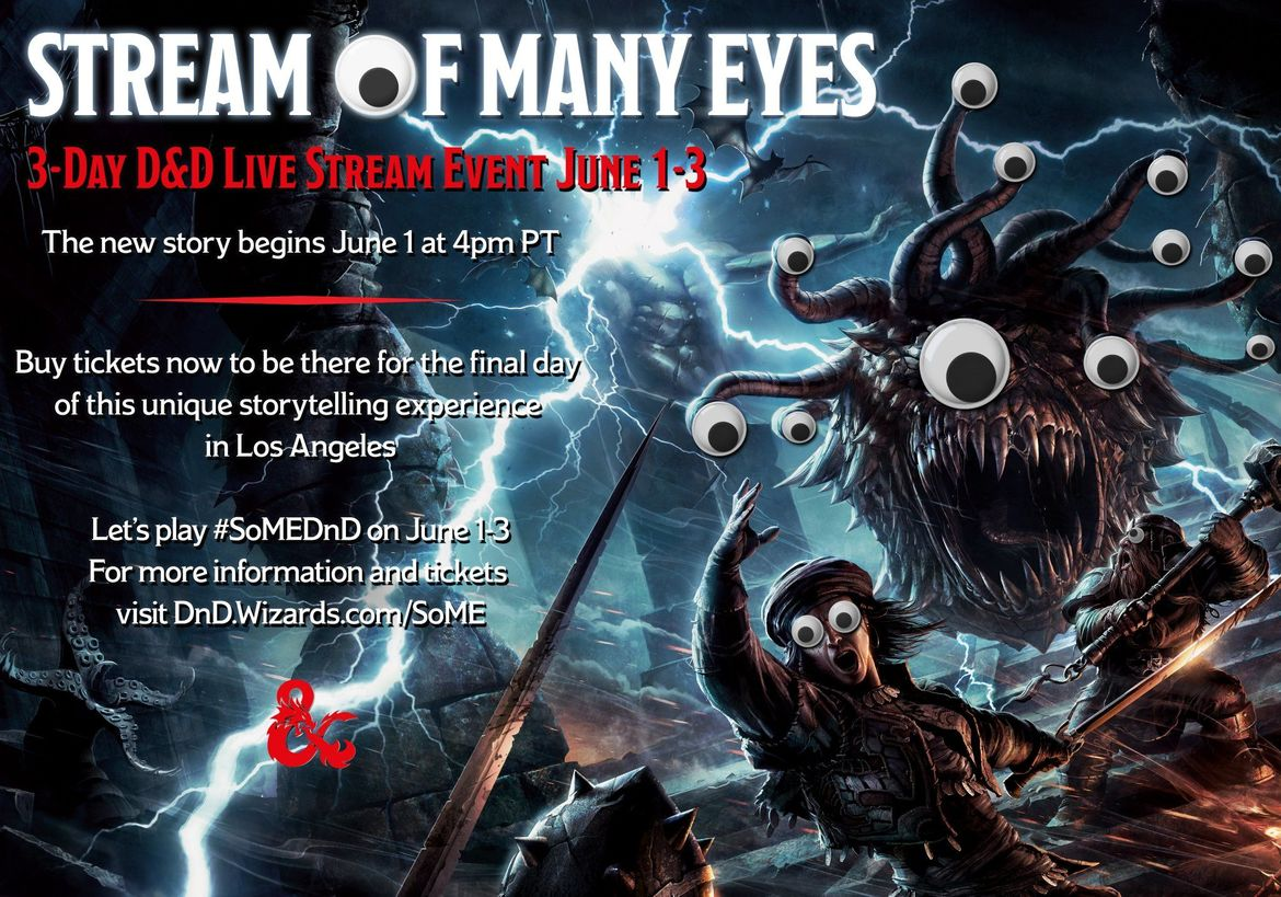 Stream of Many Eyes - Dungeons & Dragons