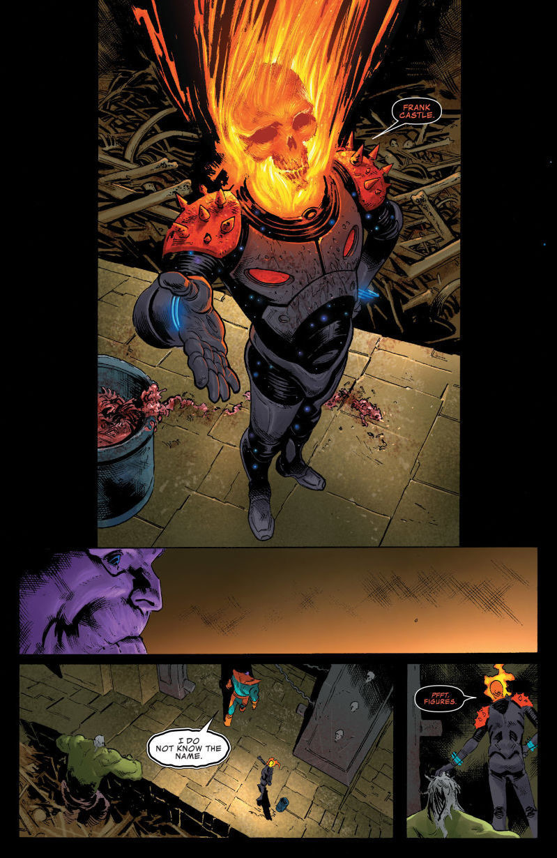 Space Ghost Rider Revealed in Thanos 15
