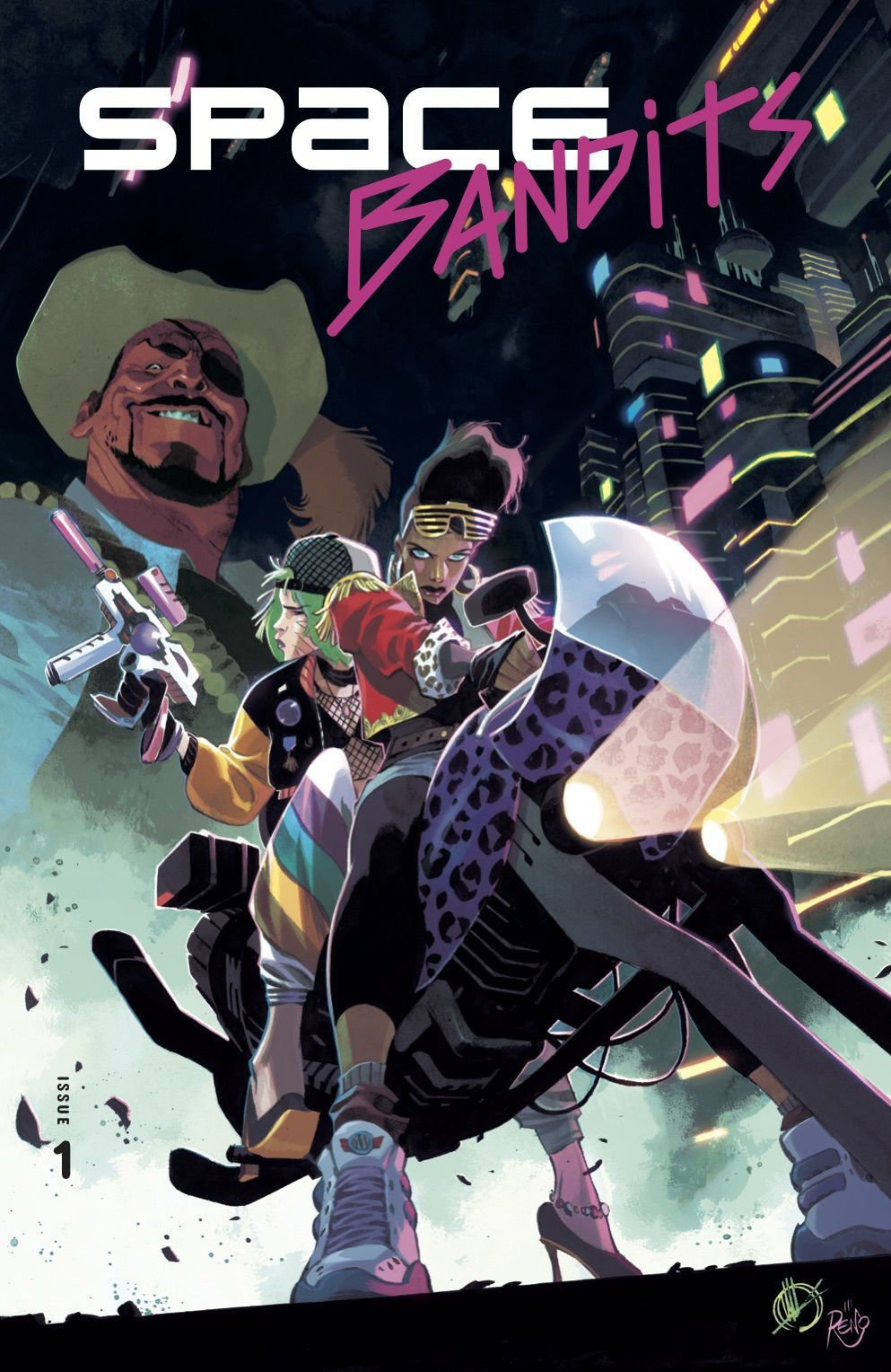 Space Bandits #1 front cover