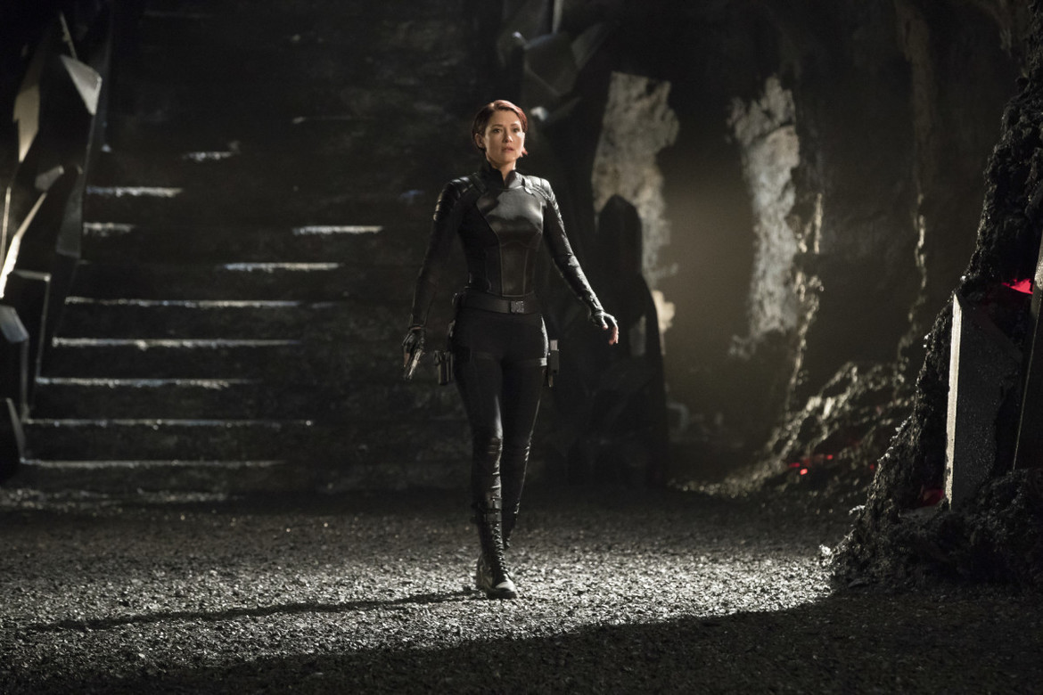 Supergirl episode 317 - Alex in her new suit