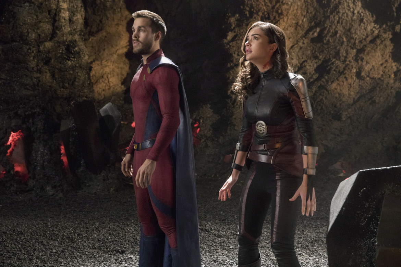 Supergirl episode 317 - Mon-El and Imra