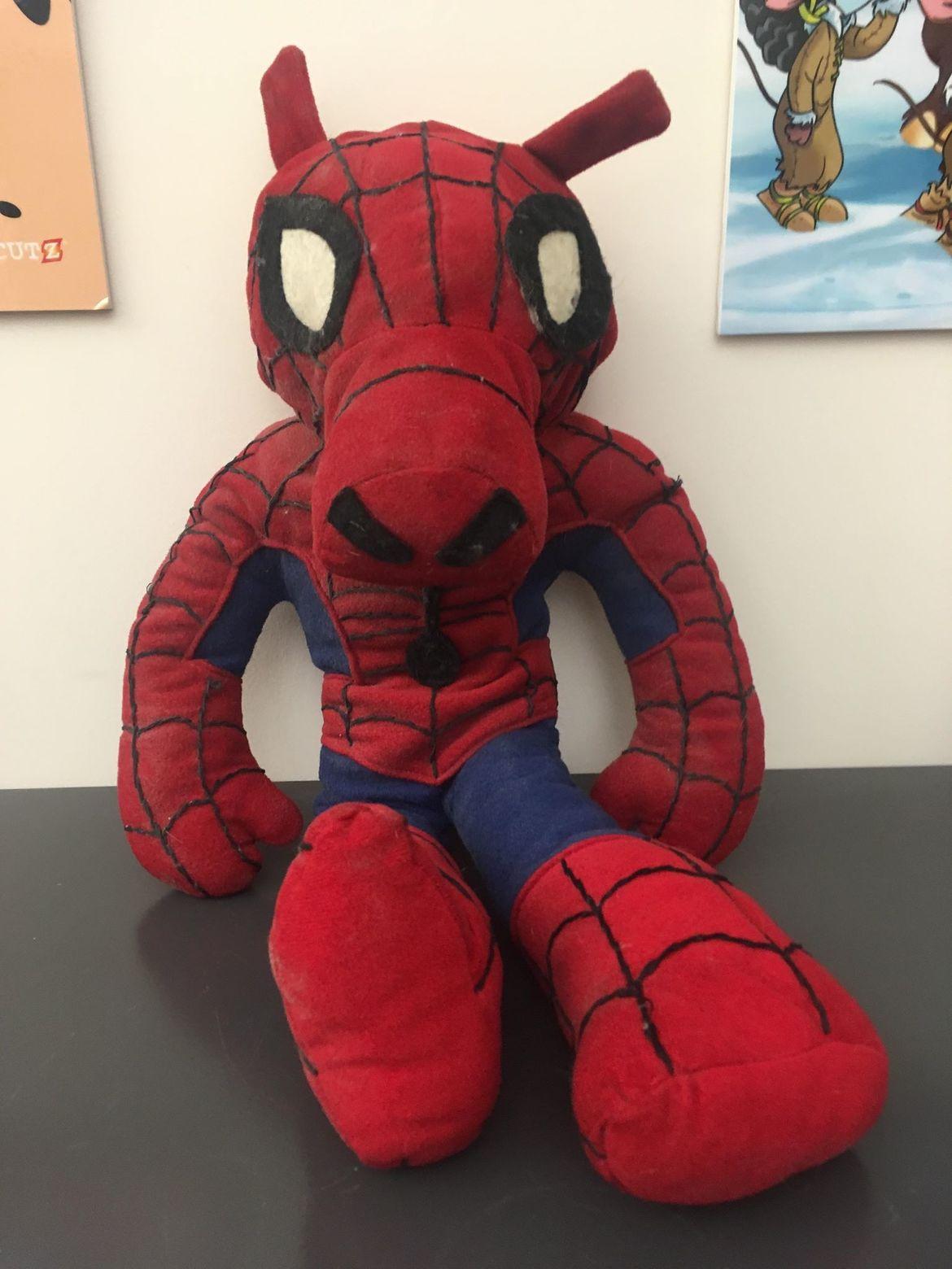 The original Spider-Ham plush doll