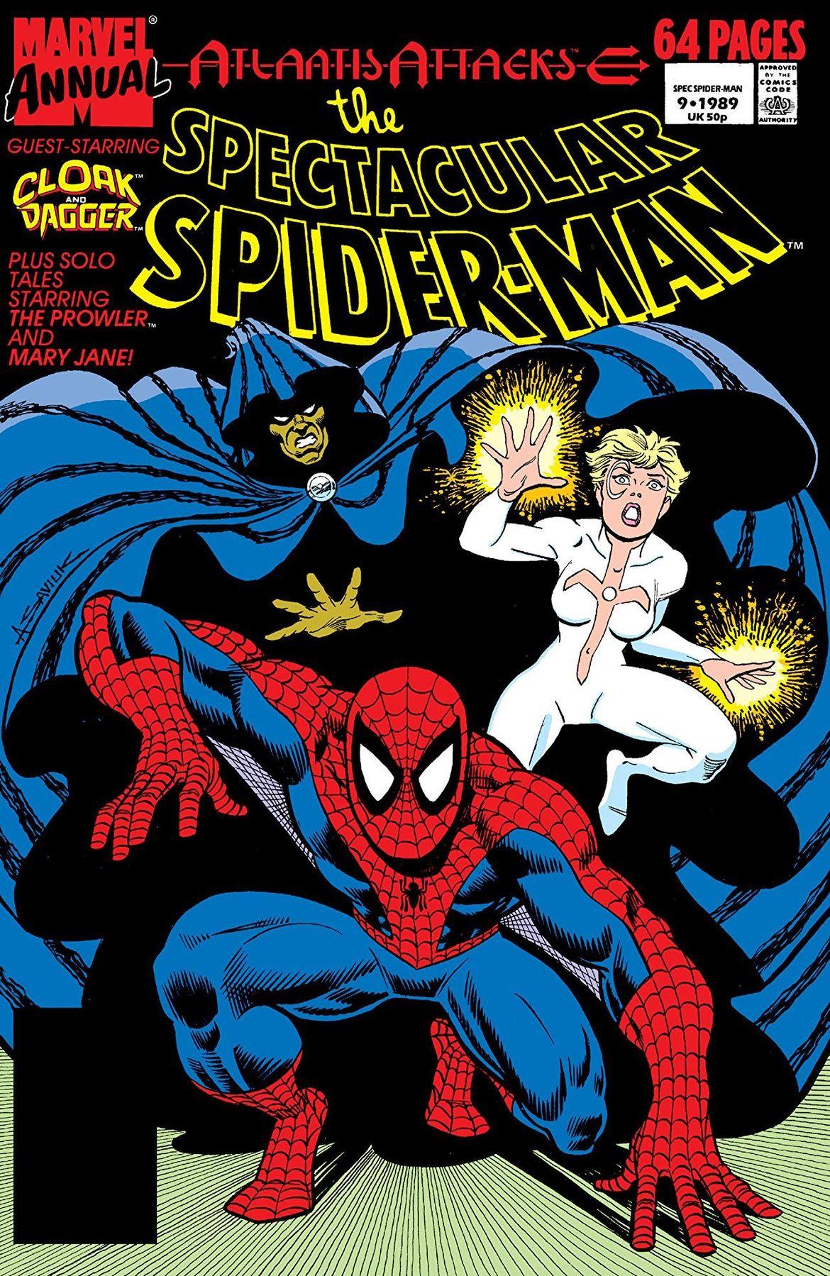 77e1fa61 Roy Thomas on the end of Amazing Spider-Man comic strip