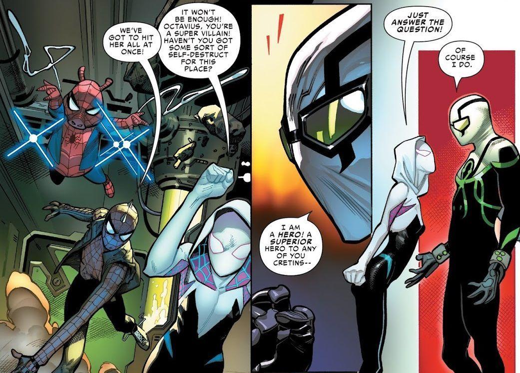 Spider-Geddon #2 (Writer Christos Gage, Penciler Jorge Molina)