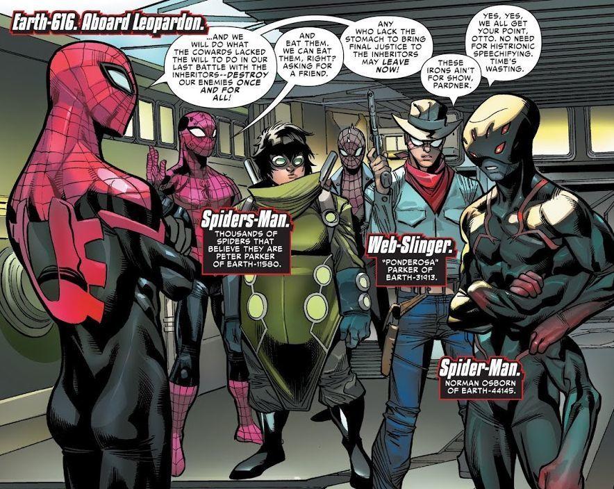Spider-Geddon #3 (Writer Christos Gage, Penciler Jorge Molina)