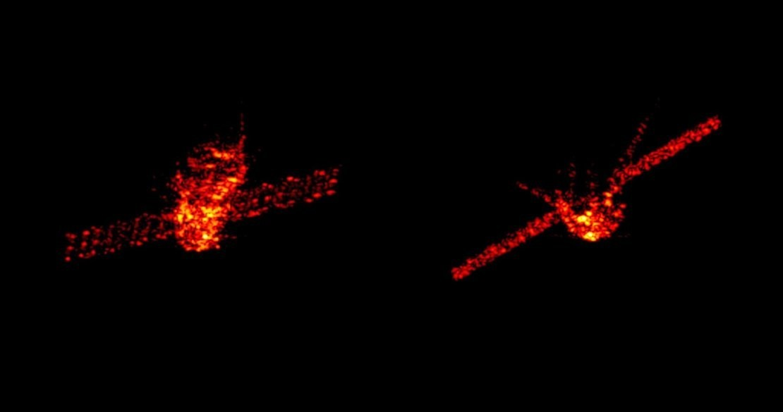 ESA radar image of Tiangong-1