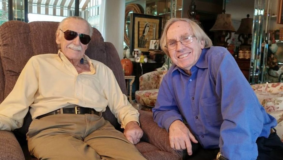 Stan Lee and Roy Thomas