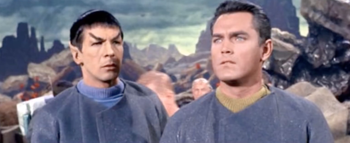 Star Trek- Spock and Pike