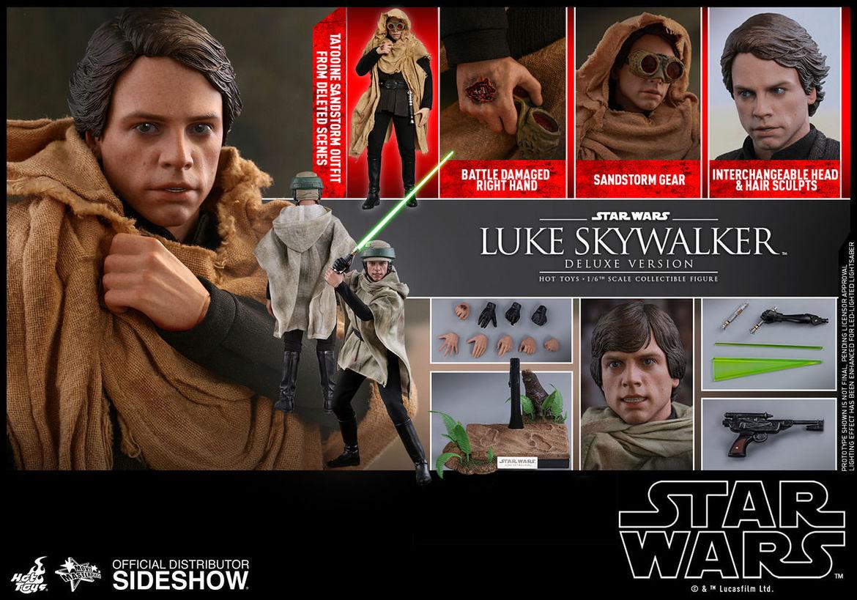 hot toys star wars return of the jedi luke skywalker deluxe