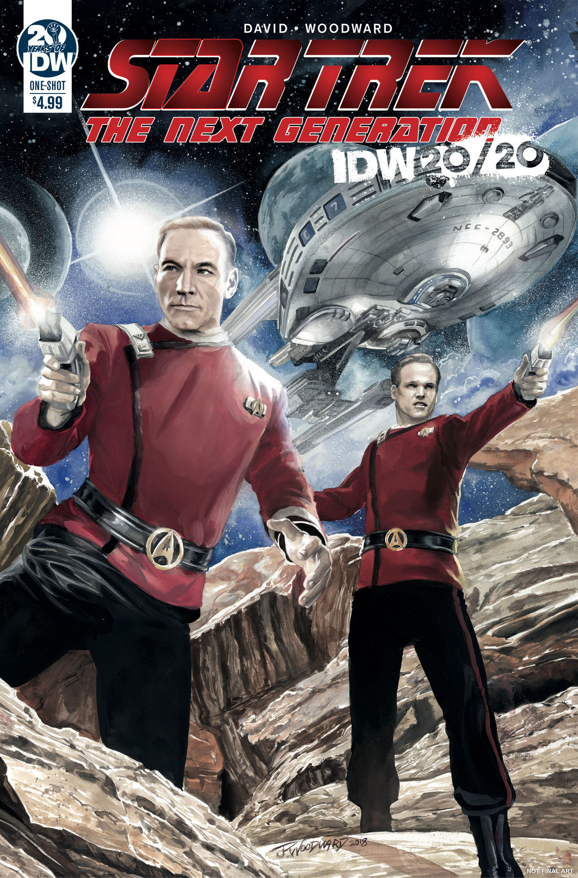 Star Trek 20:20 Cover A