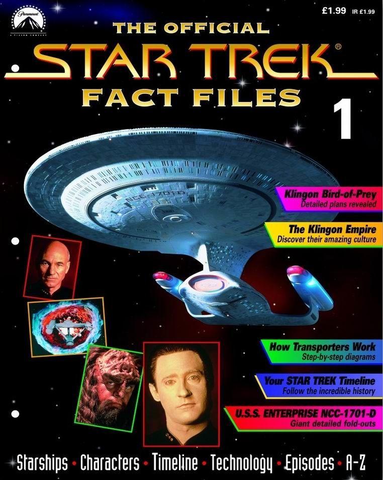Star Trek Fact Files Issue 1 Cover