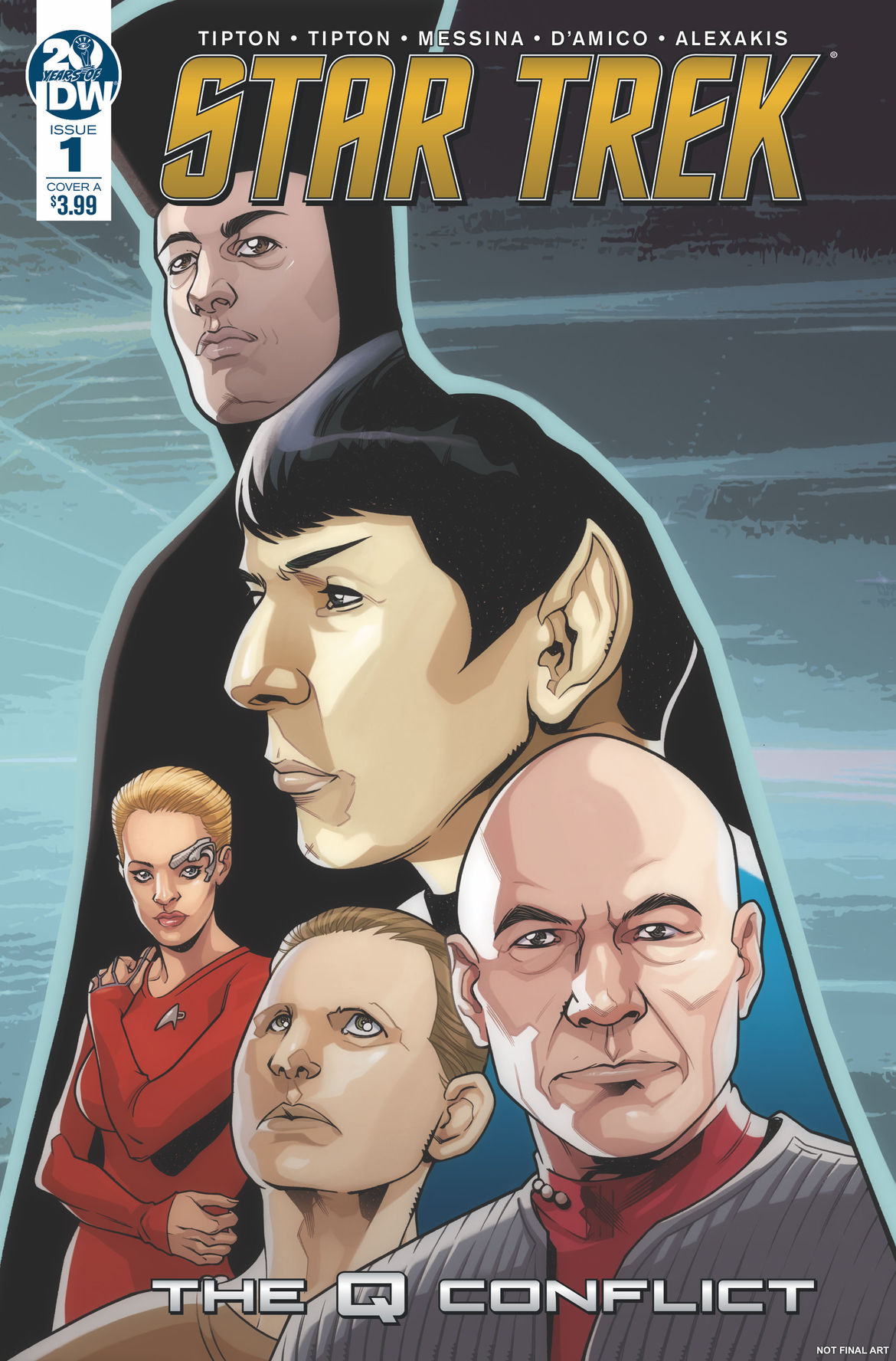 Star Trek Q Conflict Cover A